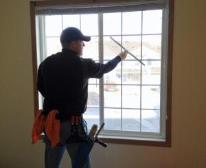 ניקוי חלונות ביתיים