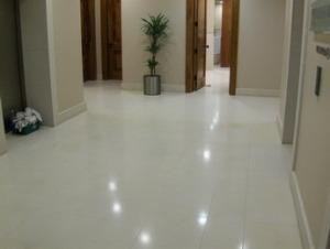 how to cut cement floor